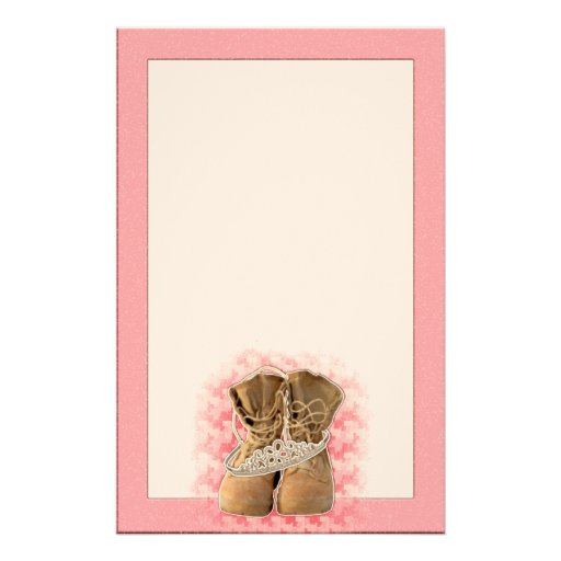 Boots Personalized Stationery