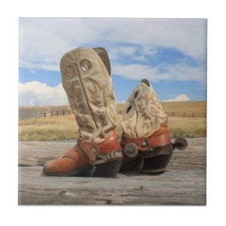 Boots & Spurs Tile
