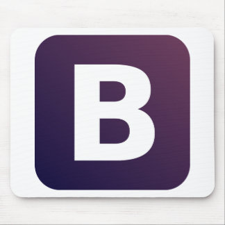Bootstrap Logo Mouse Pad