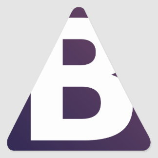 Bootstrap Logo Triangle Sticker