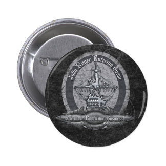Booty Business 2 Inch Round Button