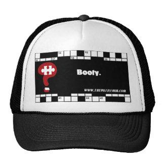 Booty Crossword Hat