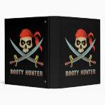 Booty Hunter 3 Ring Binder