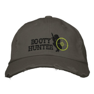 Booty Hunter Custom Embroidered Baseball Cap