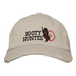 Booty Hunter Custom Embroidered Baseball Hat