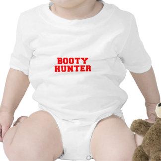 BOOTY-HUNTER-fresh-red.png Baby Bodysuit