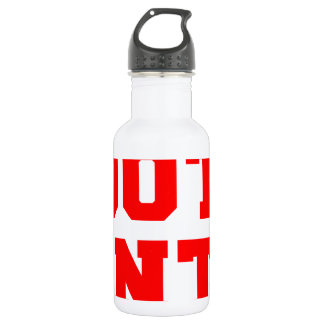 BOOTY-HUNTER-fresh-red.png Water Bottle