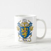 Booy Family Crest Mug