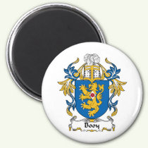 Booy Family Crest Magnet