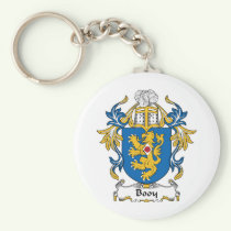 Booy Family Crest Keychain