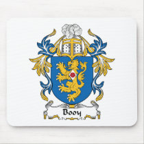 Booy Family Crest Mousepad