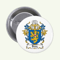 Booy Family Crest Button