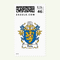 Booy Family Crest Stamps