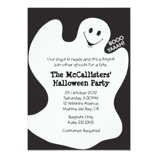 BOOYAHH! Halloween Costume Fun Party Invites Custom Invite