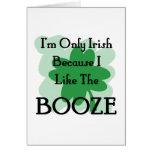booze card