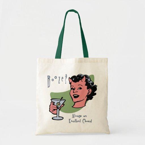 Booze Choice Budget Tote Bag