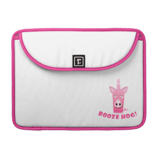 BOOZE HOG LAPTOP SLEEVE