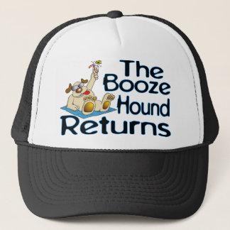 Booze Hound Returns Trucker Hat