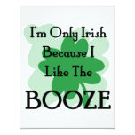 booze personalized announcement