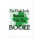 booze postcard