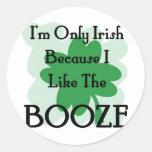booze round stickers