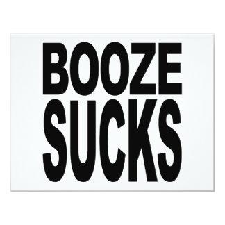 Booze Sucks Card