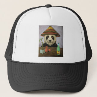 Boozer 4 with Panda Trucker Hat