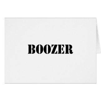 Boozer Black Card