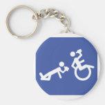 boozer de la silla de ruedas llavero