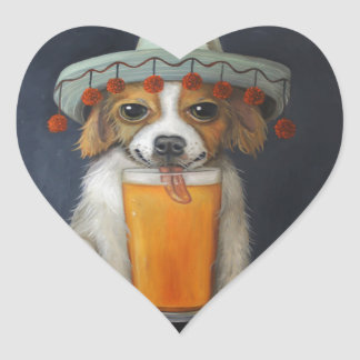 Boozer Heart Sticker