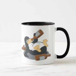 Boozing Penguin Mug