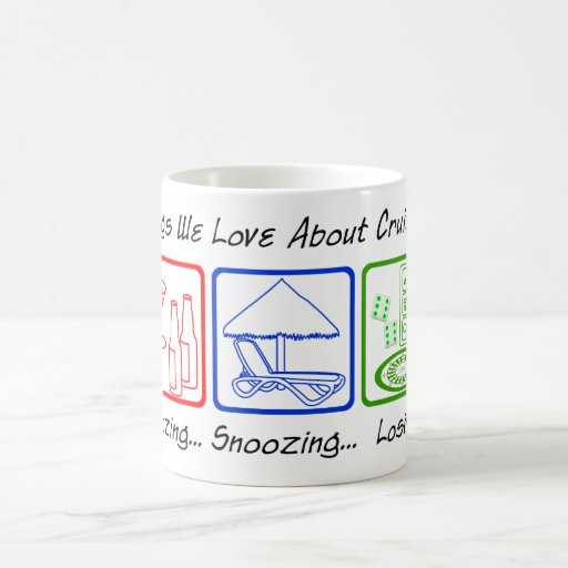 Boozing, Snoozing... Classic White Coffee Mug