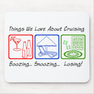 Boozing, Snoozing... Mouse Pads