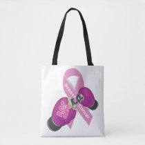 BOP CANCER- Breast Cancer Double-sided Tote Bag