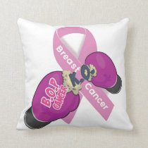 BOP CANCER- Breast Cancer Pillow