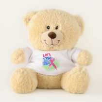 BOP CANCER- Breast Cancer Teddy Bear