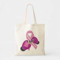 BOP CANCER- Breast Cancer Tote Bag