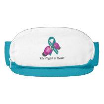 BOP Cancer- Ovarian Cancer Zipper Visor