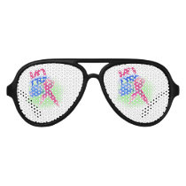 BOP Cancer Retro Sunglasses