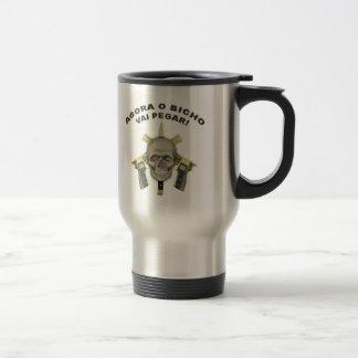 BOPE - Brazilian Police 15 Oz Stainless Steel Travel Mug
