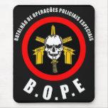 BOPE Tropa De Elite Brazilian Special Police Force Mouse Pad