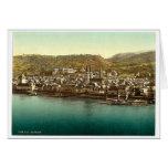 Boppard, the Rhine, Germany rare Photochrom Cards