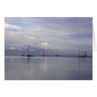 Boqueron Bay Puerto Rico Card