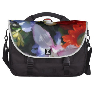 Boquet colorido bolsas para portátil