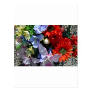 Boquet colorido postal