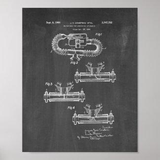 Boquilla de Jacques Cousteau para respirar Poster