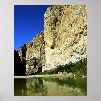 Boquillas Canyon Poster
