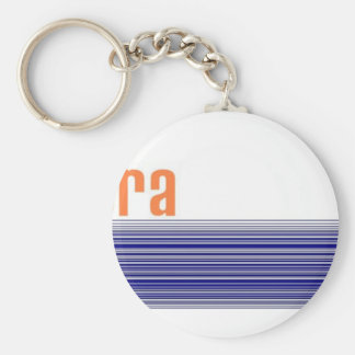 Bora Bora Basic Round Button Keychain