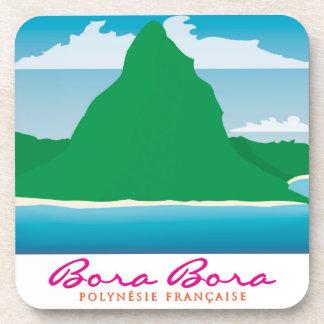 Bora Bora Beverage Coaster
