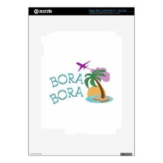 Bora Bora Decals For iPad 3